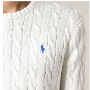 Ralph Lauren cable knit women's sweater
